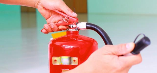 Fire safey training